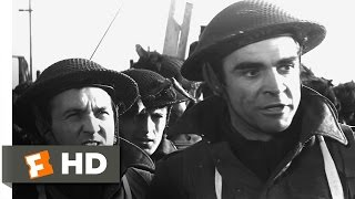 The Longest Day 23 Movie CLIP  The British Invasion 1962 HD