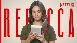 Lily James Reading Rebecca  Story Time  Netflix