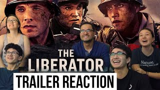 The Liberator Official Trailer REACTION  MaJeliv Reactions  the MaJeliv Dad as GOMEZ