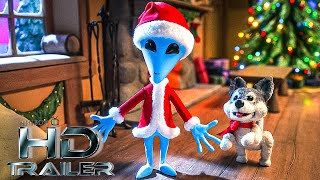ALIEN XMAS Official Teaser Trailer NEW 2020 Netflix Stop Motion Animation HD