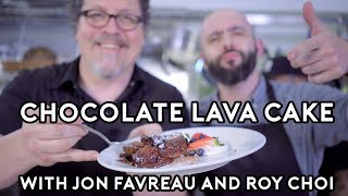 Binging with Babish Chocolate Lava Cakes from Chef feat Jon Favreau and Roy Choi