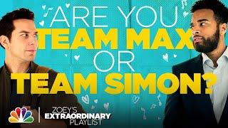 Team Max vs Team Simon  Zoeys Extraordinary Playlist