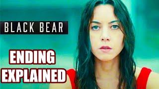 Black Bear 2020 ENDING EXPLAINED   ComedyDrama Thriller Film