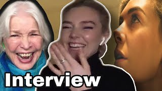 VANESSA KIRBY InterviewGIVING BIRTH in PIECES OF A WOMAN ELLEN BURSTYN on MOMS DAUGHTERS  HAIR