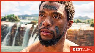 MBaku Challenges TChalla Scene  Black Panther 2018 Movie CLIP 4K