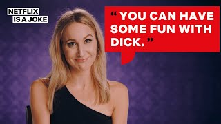 The Best Cut Footage Of Nikki Glaser  More  History Of Swear Words
