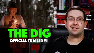 REACTION The Dig Trailer 1  Lily James Netflix Movie 2021