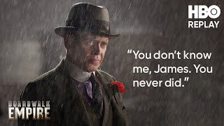 Boardwalk Empire Jimmys Final Moments  HBO Replay