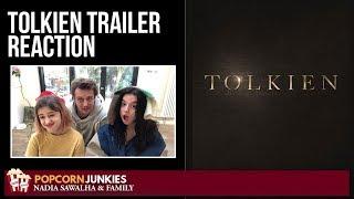 TOLKIEN  Official Trailer  Nadia Sawalha  The Popcorn Junkies Family Reaction