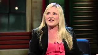 Nancy Cartwright aka Bart Simpson  Interview 2004  ROVE LIVE