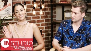 Blindspotting Stars Rafael Casal  Janina Gavankar on Filming in Oakland  In Studio with THR