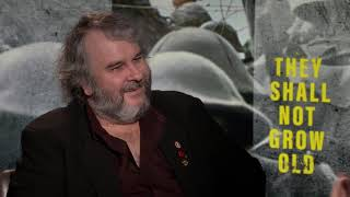 THEY SHALL NOT GROW OLD  Peter Jackson interview about his revolutionary WW1 documentary
