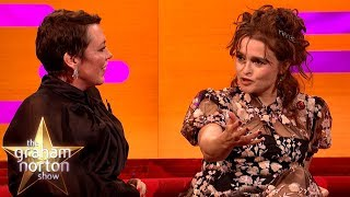 Helena Bonham Carter Used A Psychic To Speak To Princess Margarets Ghost   The Graham Norton Show