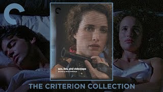 sex lies and videotape 1989 Criterion Collection Bluray Slipcover Digipack  Unboxing 4K Video