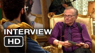 The Dictator  Larry King Interview  Sacha Baron Cohen Movie HD
