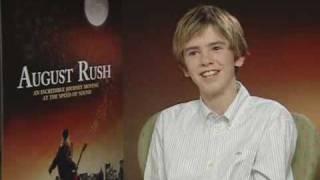 Freddie Highmore talks August Rush  Empire Magazine