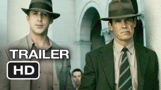 Gangster Squad TRAILER 2 2013  Ryan Gosling Sean Penn Movie HD