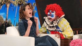 Ellen Ups Her Scare Game for AHS Cult Star Sarah Paulson