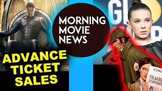 Black Panther Advance Ticket Sales  Box Office Millie Bobby Brown is Enola Holmes