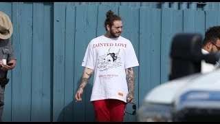 Post Malone cast in first movie role  Daily Celebrity News  Splash TV