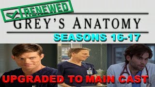 Greys Anatomy Renewed for Seasons 1617 Greg Germann Chris Carmack Promoted to Main Cast