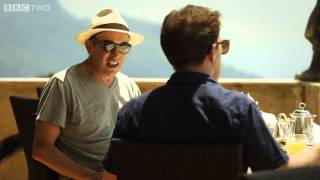 Steve Coogan and Rob Brydons Godfather impressions  The Trip to Italy  Episode 6  BBC Two