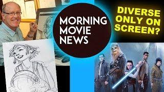 Glen Keane Netflix Movie Over the Moon Star Wars White Male Director Problem