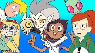15 NEW Cartoons Were Excited For in 2019 Close Enough Infinity Train  More