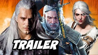 The Witcher Netflix Trailer  First Look Characters Breakdown