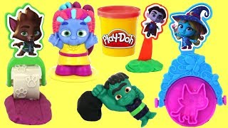 Nat and Essie Unbox Super Monsters PlayDoh Tools
