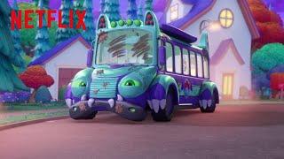 Bus Needs A Bath  Super Monsters  Netflix Jr