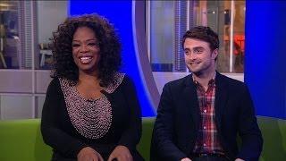 Daniel Radcliffe  Matt Baker confess to Oprah Winfrey  The One Show  BBC One