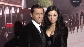 Clifton Collins Jr  Francesca Eastwood Westworld Premiere Red Carpet