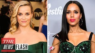 Kerry Washington Reese Witherspoon to Star in TV Series Little Fires Everywhere  THR News Flash