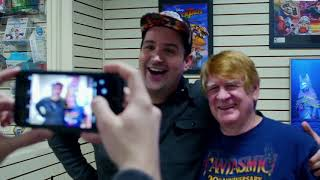 Kingdom Hearts III Launch Event at Game Realms w voice actors Bill Farmer  Quinton Flynn