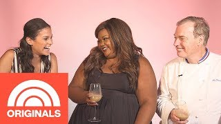 Donna OffAir Nailed It Host Nicole Byer And Judge Jacques Torres  Donna OffAir  TODAY