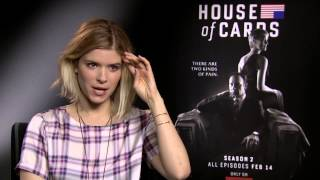 House of Cards  Kate Mara Interview