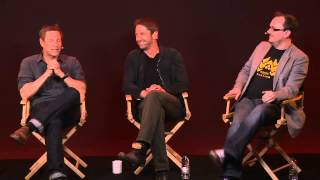 Gerard Butler  Aaron Eckhart Olympus Has Fallen Interview