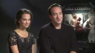 Alicia Vikander and Matthew Macfadyen Interview  Anna Karenina  Empire Magazine