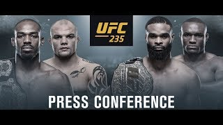 UFC 235 Jones vs Smith Press Conference