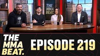 The MMA Beat Episode 219 UFC 235 Jones vs Smith Ben Askrens Debut Interim Titles More