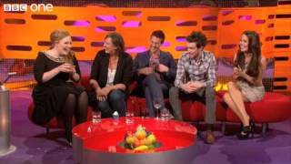 Adele operates the red chair  The Graham Norton Show preview  BBC One